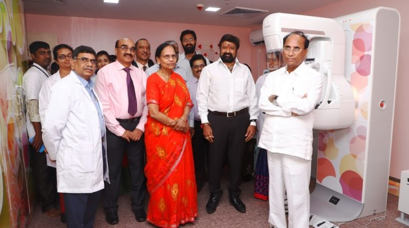 Basavatarakam Indo American Cancer hospital & Research Institute has launched India's first comprehensive  3D Digital Mammography (Tomosynthesis)